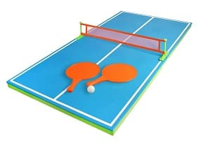 Poolmaster floating ping pong table