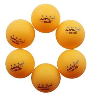 MAPOL 3-Star Premium Ping Pong Balls