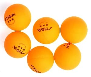 STIGA 3-Star Table Tennis Balls