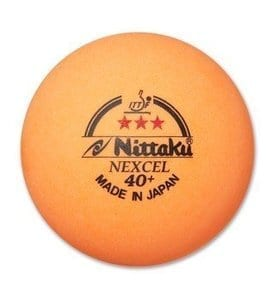 NITTAKU 3-STAR NEXCEL 40+ ORANGE BALLS
