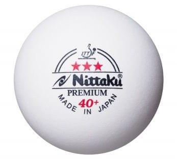 Nittaku 3-Star Premium 40+