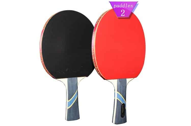 MAPOL 4 Star Professional Ping Pong Paddles