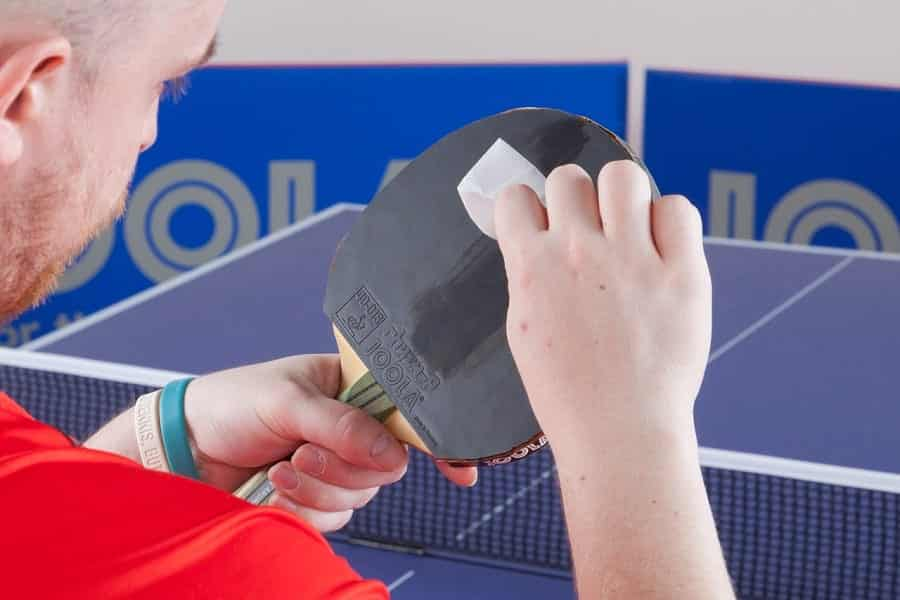 How To Clean A Ping Pong Paddle Rubber