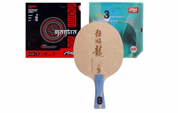 DHS Hand Assembled Professional Table Tennis Racket Review