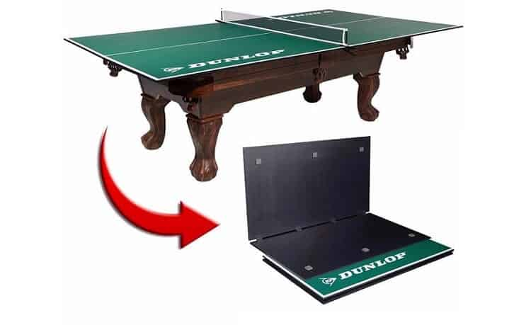 4-Piece Dunlop Table Tennis Conversion Top Review