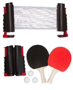 Trademark Innovations Anywhere Table Tennis Set