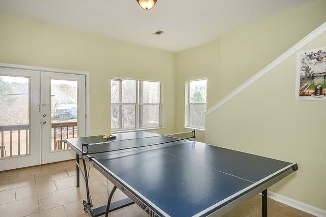 Space Needed for a Ping Pong Table