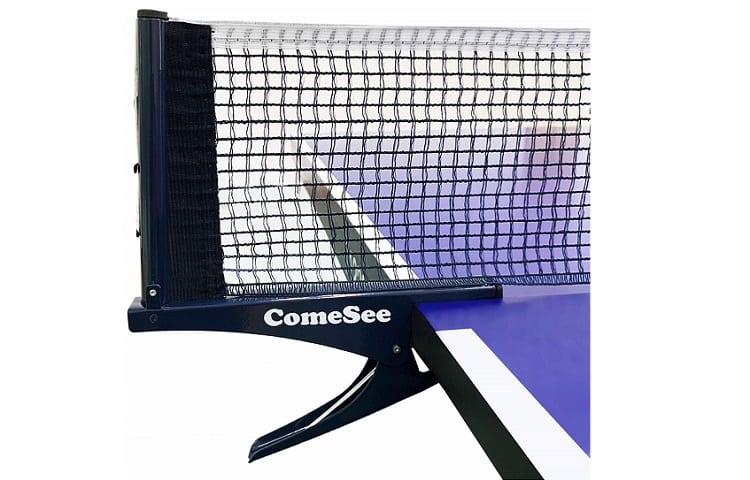 Comesee Kioos Collapsible Table Tennis Net Adjustable Post Review