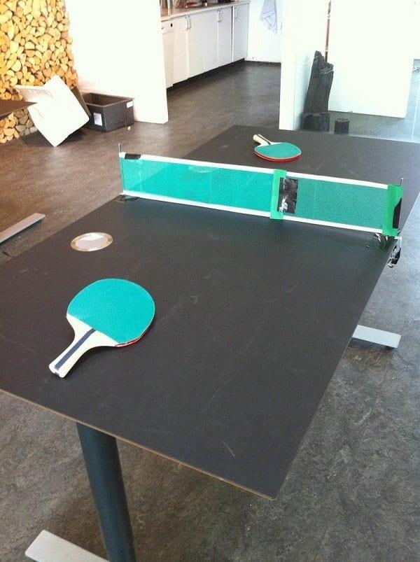 Make a Ping Pong Table
