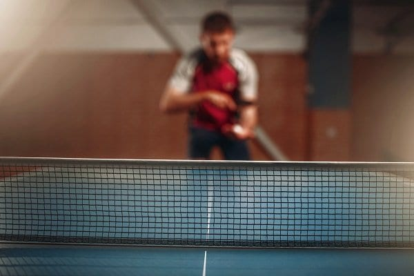 Table Tennis Net and Post Set