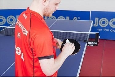 Table Tennis Rubber Cleaning Wipes