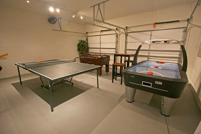 Air Hockey Ping Pong Table Combo