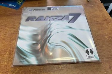 Yasaka Rakza 7 Table Tennis Rubber Review