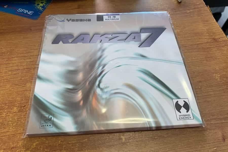 Yasaka Rakza 7 Table Tennis Rubber Review