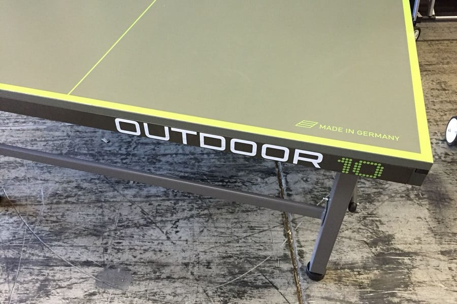 Kettler Outdoor 10 Table Tennis Table Review