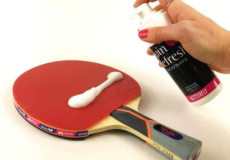 Applying Paddle Cleaner